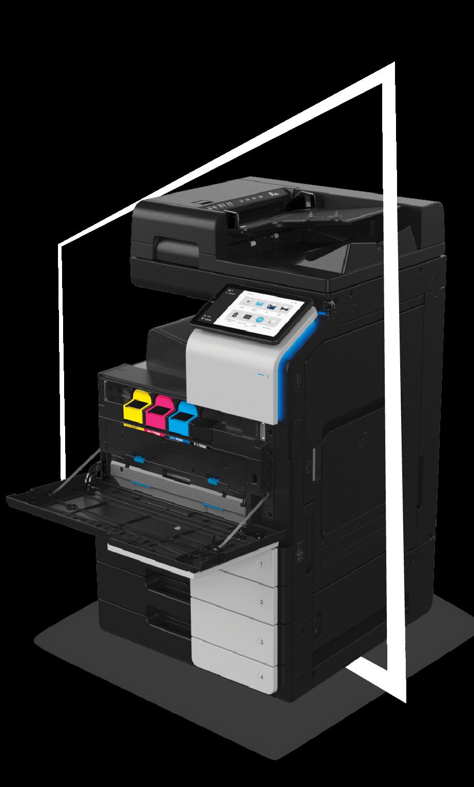 multifunctinon printer bizhub i-series